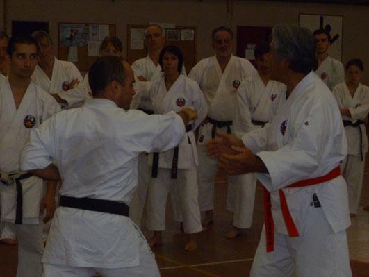 Stage Oshukai Shorin Ryu de Laudun
