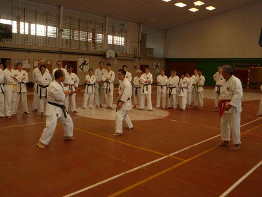 Laudun Karate decembre 2012