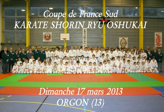 Coupe OSHUKAI KARATE SHORIN RYU région SUD