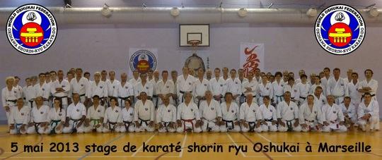 Stage de Karate Oshukai à Marseille
