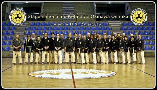 Stage de Kobudo Oshukai à Lorient