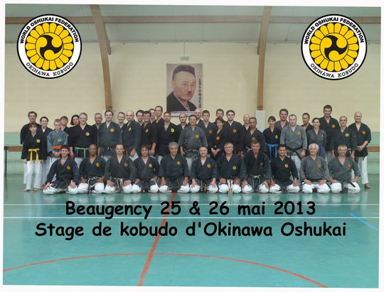 stage de kobudo de Beaugency