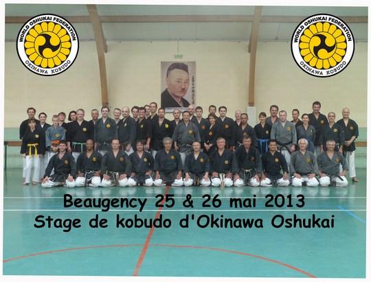 Stage Oshukai de Kobudo à Beaugency