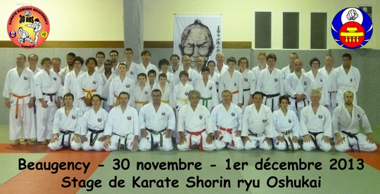 Stage de Karate Oshukai à Beaugency