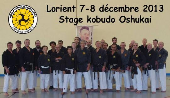 Stage Kobudo Lorient 2013