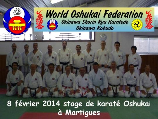 Stage régional de Karate Oshukai à Martigues