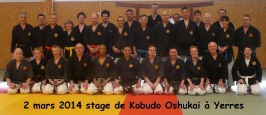 Stage Oshukai de Kobudo à Yerres