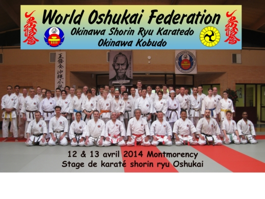 Stage national de Karate Oshukai à Montmorency