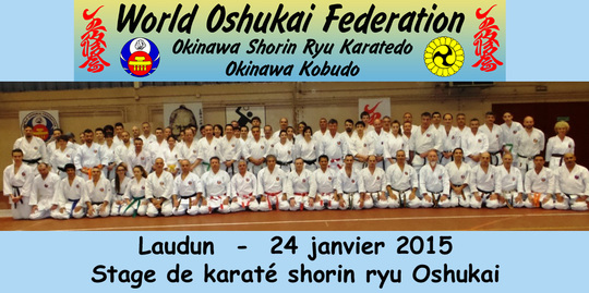 stage de karate de Laudun