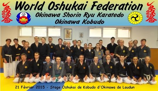 Stage Oshukai de Kobudo à Laudun