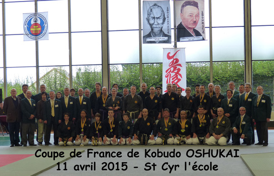 Coupe de FRANCE OSHUKAI 2015 de KOBUDO et KARATE