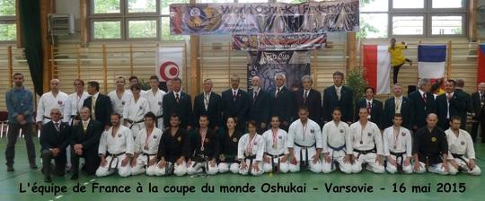 5ème Coupe du Monde WorldOshukai Federation