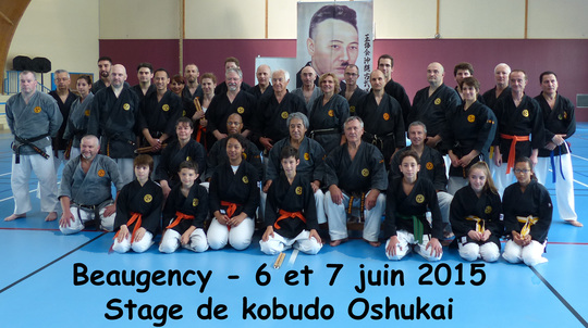 Stage de Kobudo à Beaugency