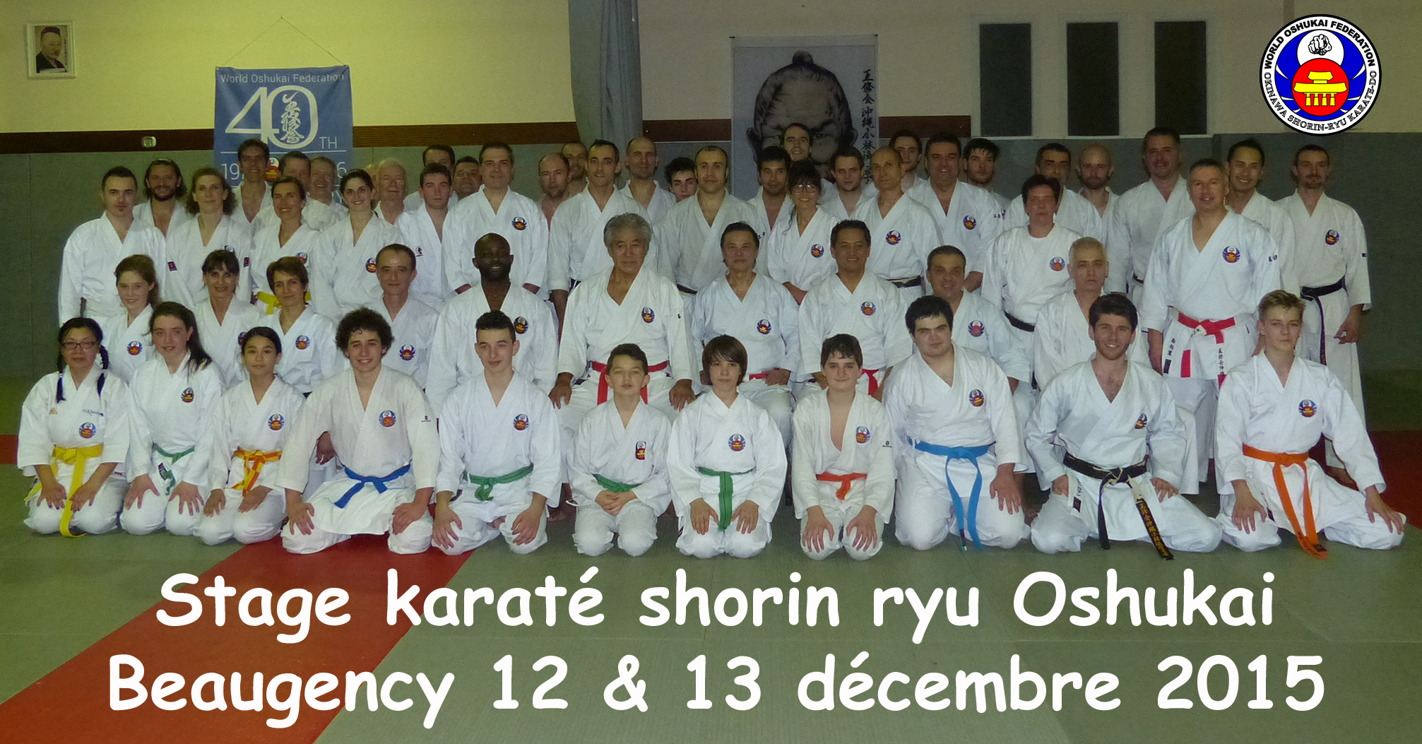 Stage de Karate Shorin Ryu Oshukai à Beaugency