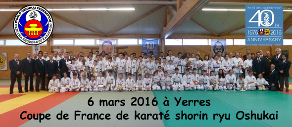 Coupe de France Oshukai Karate et Kobudo