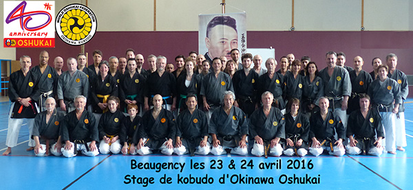 Stage de Kobudo Oshukai à Beaugency