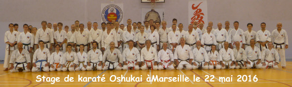 Stage de Karate Shorin Ryu Oshukai à Marseille