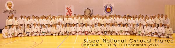 Stage National Oshukai France à Marseille