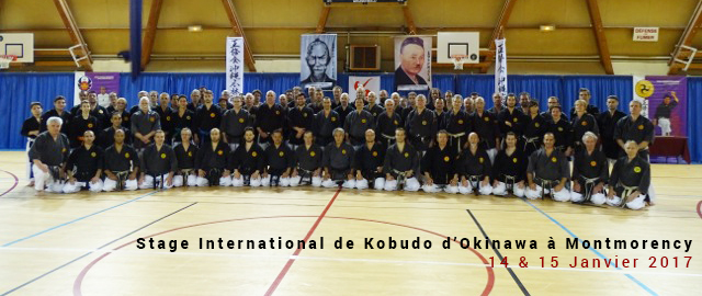 Stage international de Kobudo Oshukai France à Montmorency