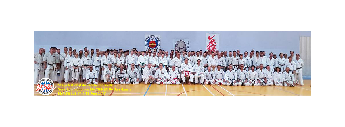 Stage national de Karate Shorin Ryu à Marseille