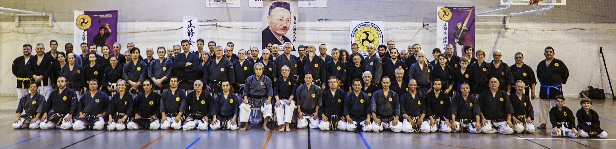 Stage International de Kobudo d'Okinawa à Eaubonne (95)