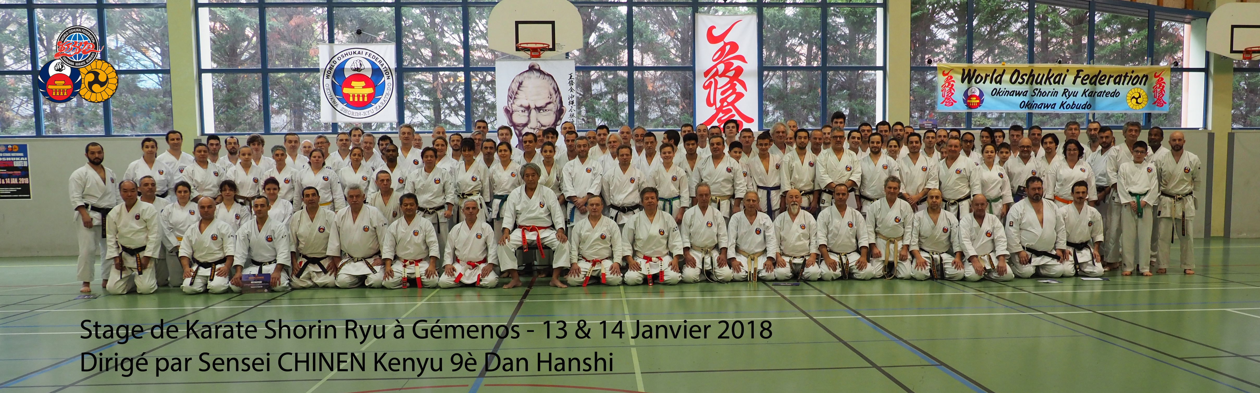 Grand Stage National de Karate Shorin Ryu