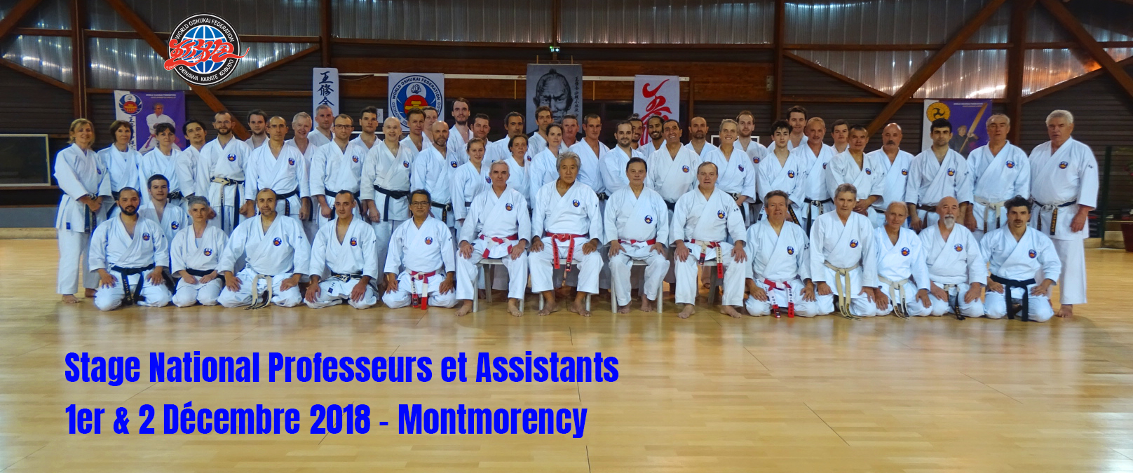 Stage National Oshukai Professeurs et Assistants – Montmorency