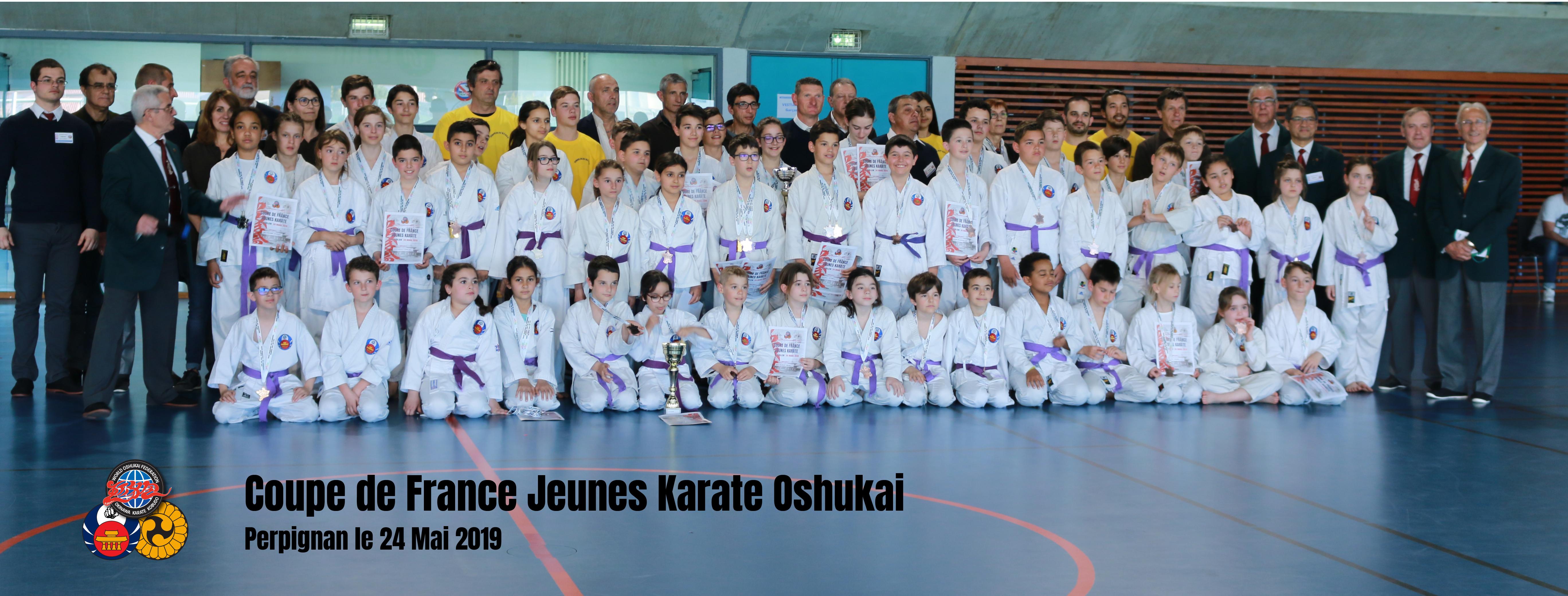 Coupe de France Karate Jeunes Oshukai 2019