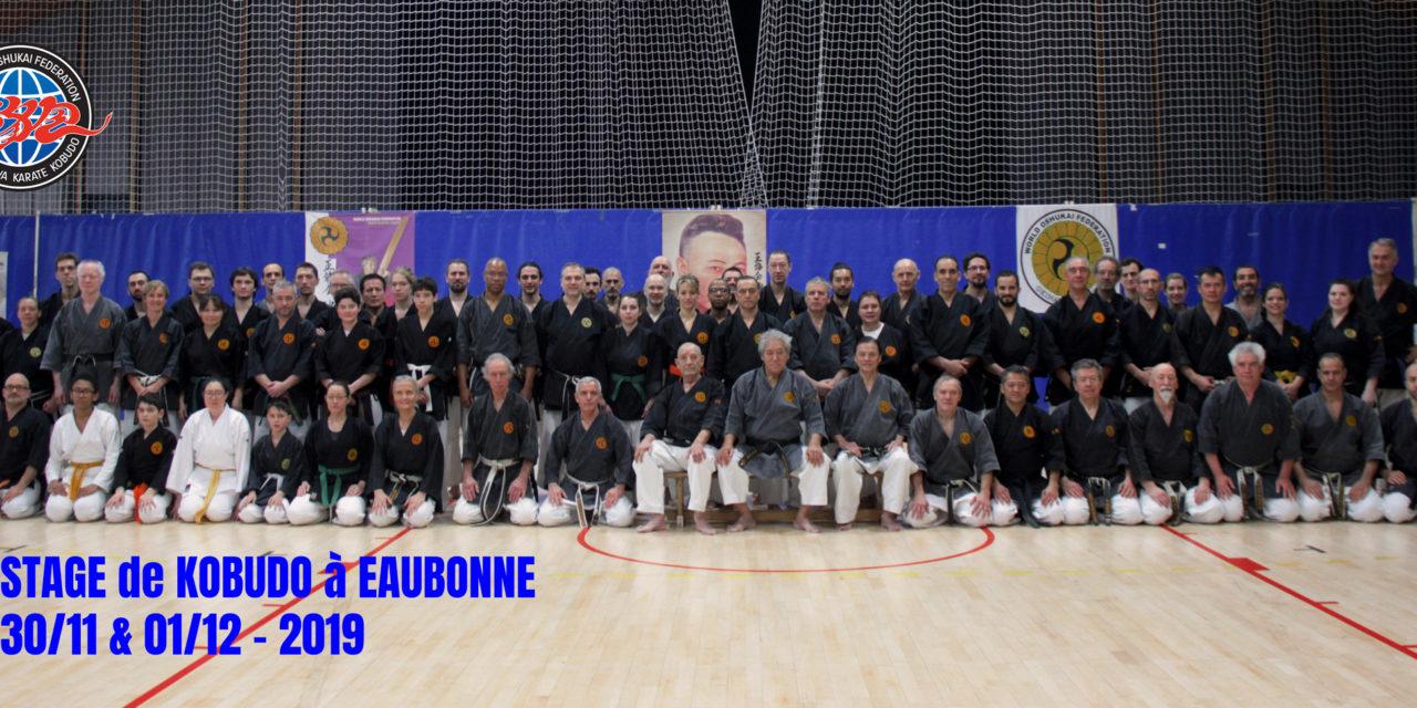 Stage National de Kobudo à Eaubonne (95)