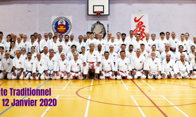Stage national de karate traditionnel Marseille