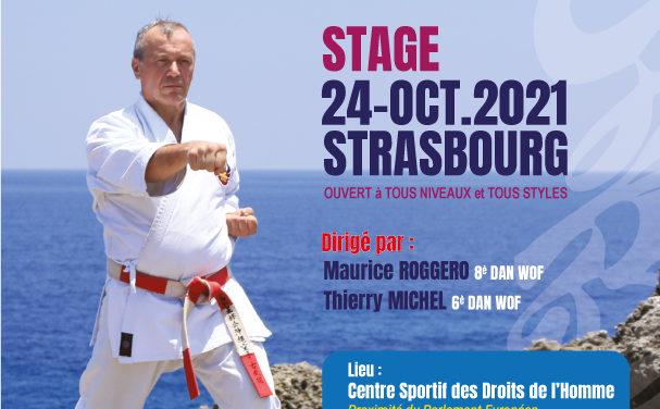 entrainement de karate a strasbourg 24.10.2021